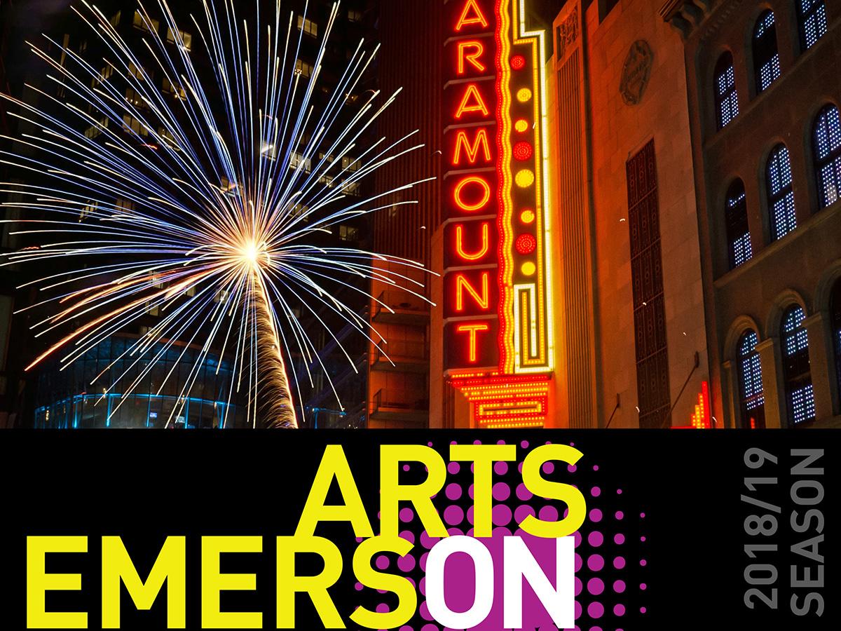 ArtsEmerson fireworks graphic