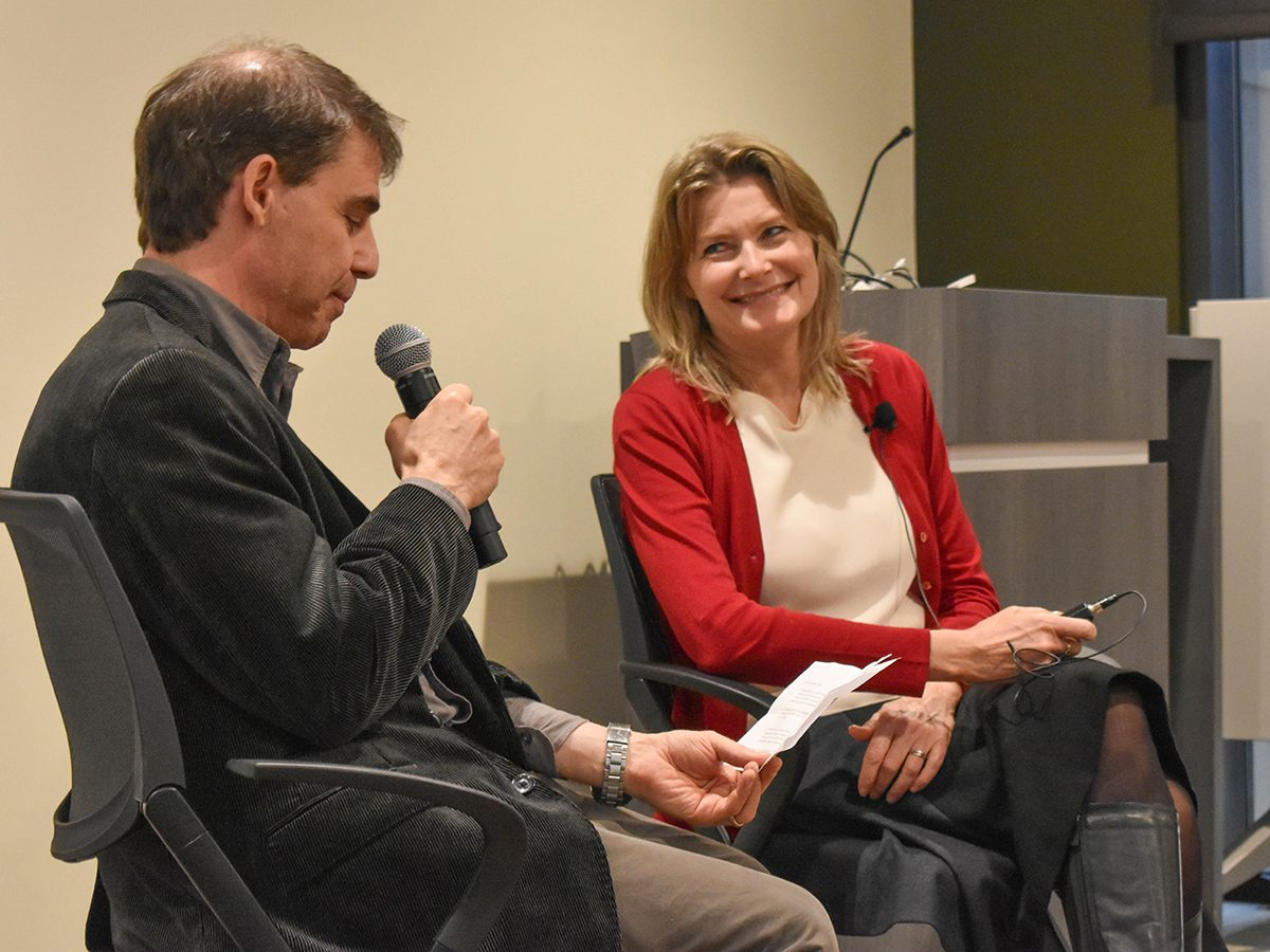 Jennifer Egan talks to Rick Reiken