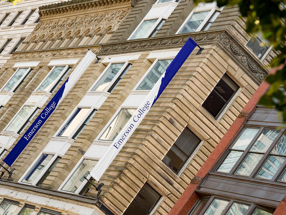 campus buildings shot at angle