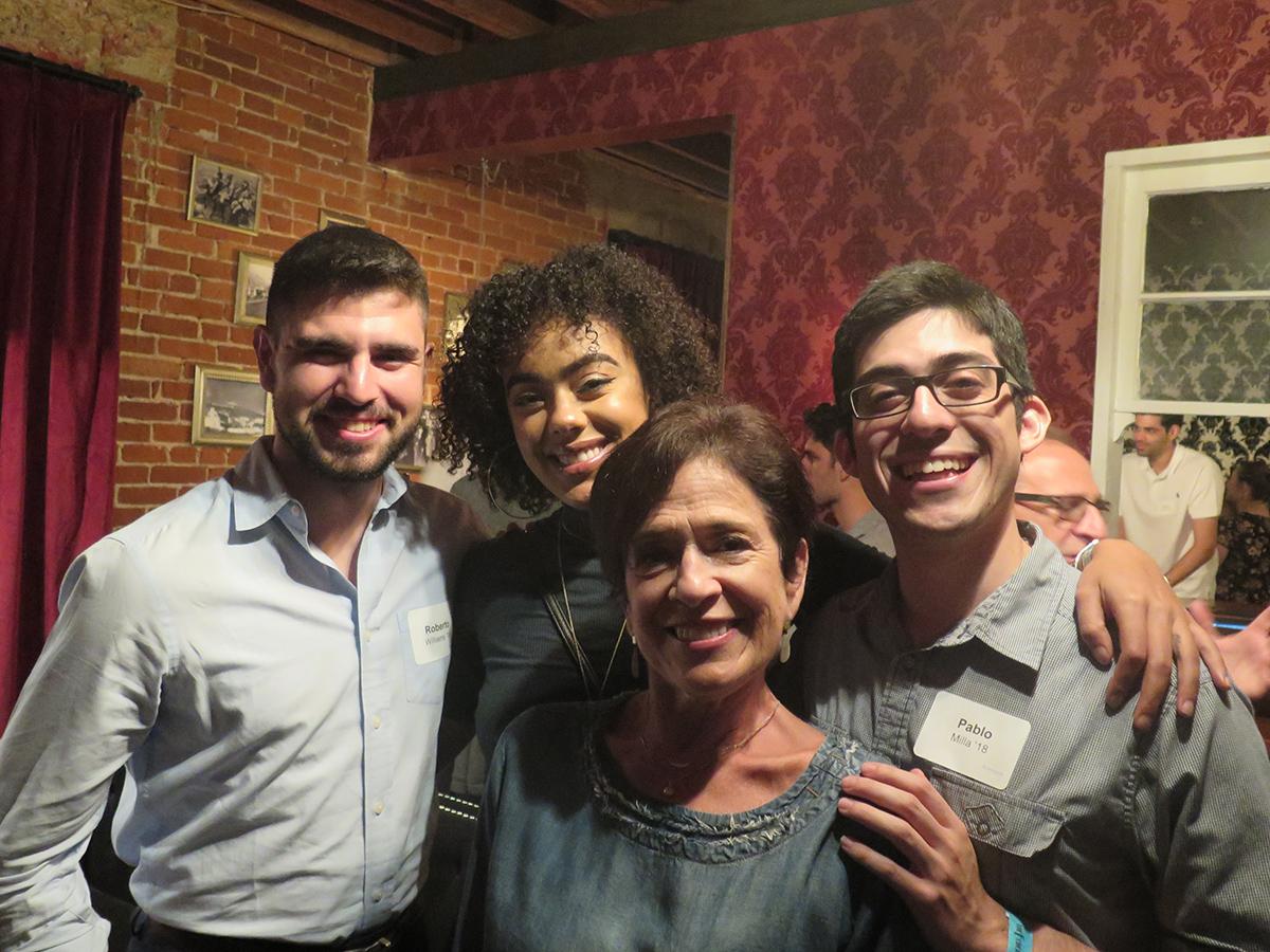 Alumni at LA Welcome to Neighborhood event