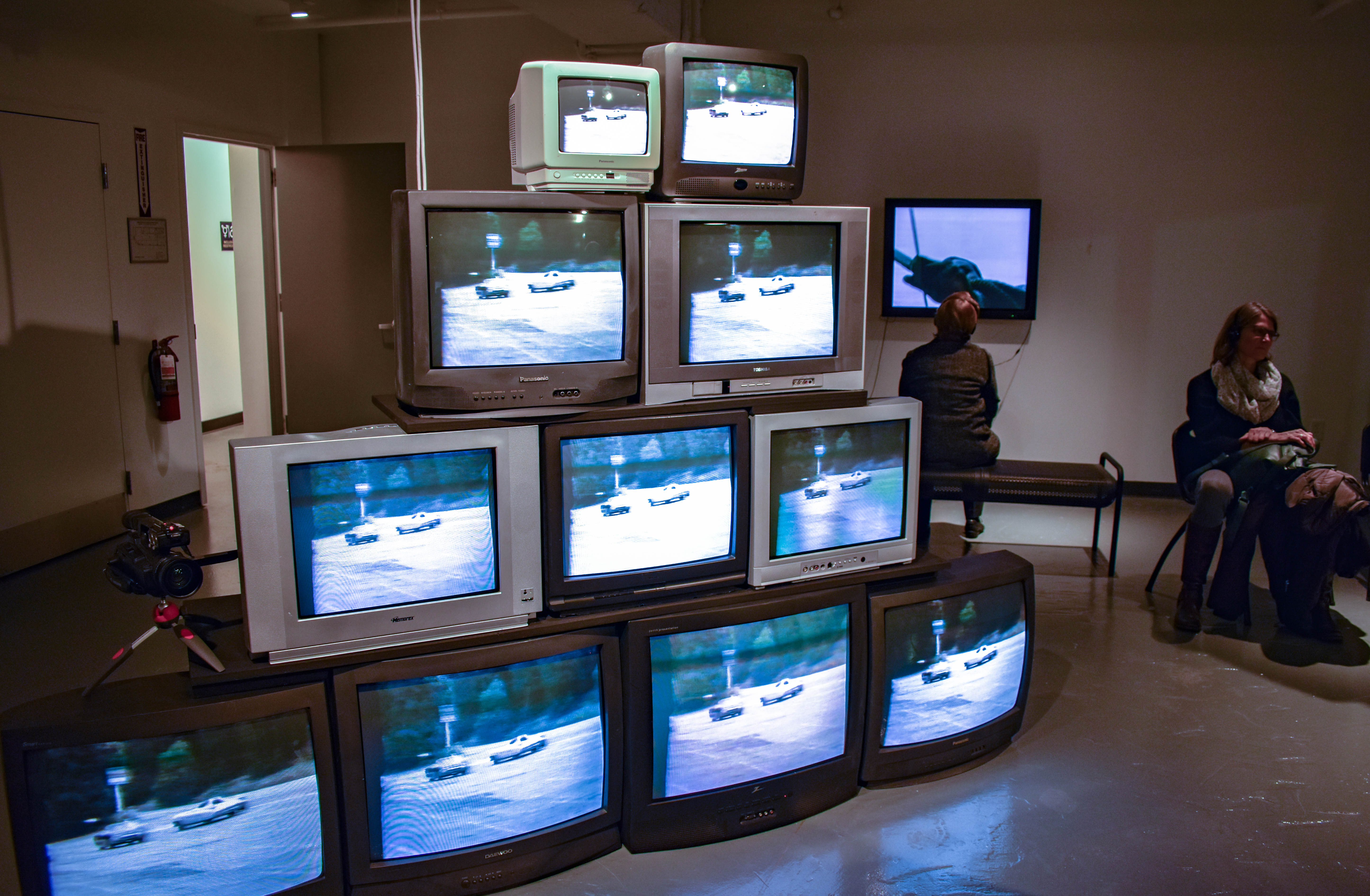 Emerson College Los Angeles >> Photos: Vision of Television at Media Art Gallery - Emerson College Today