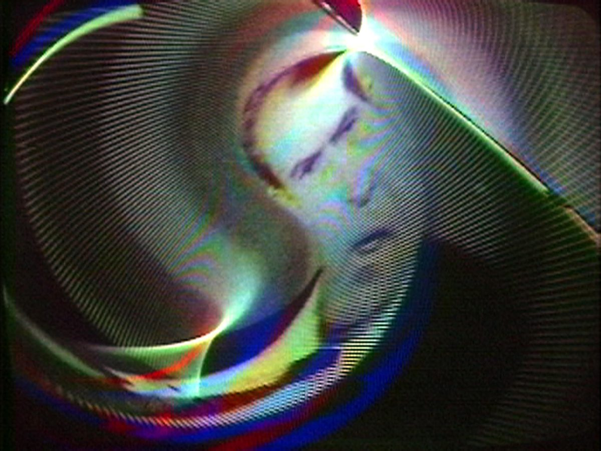 distorted image of Richard Nixon