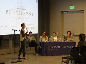 alumna pitches script