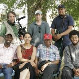 Group shot with Carolina Chocolate Drops