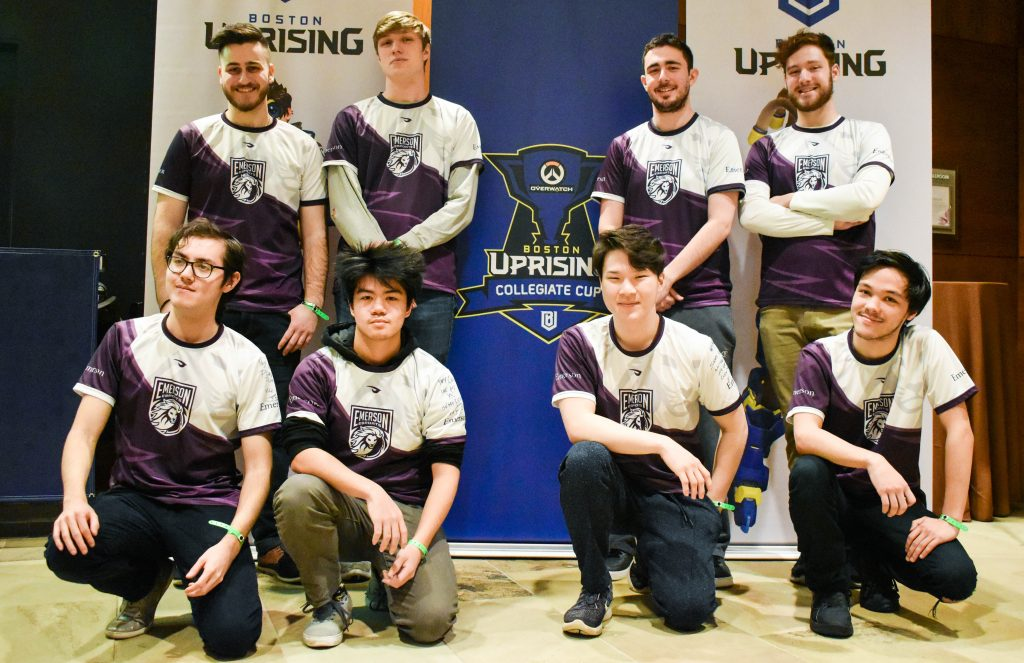 Emerson Overwatch team photo
