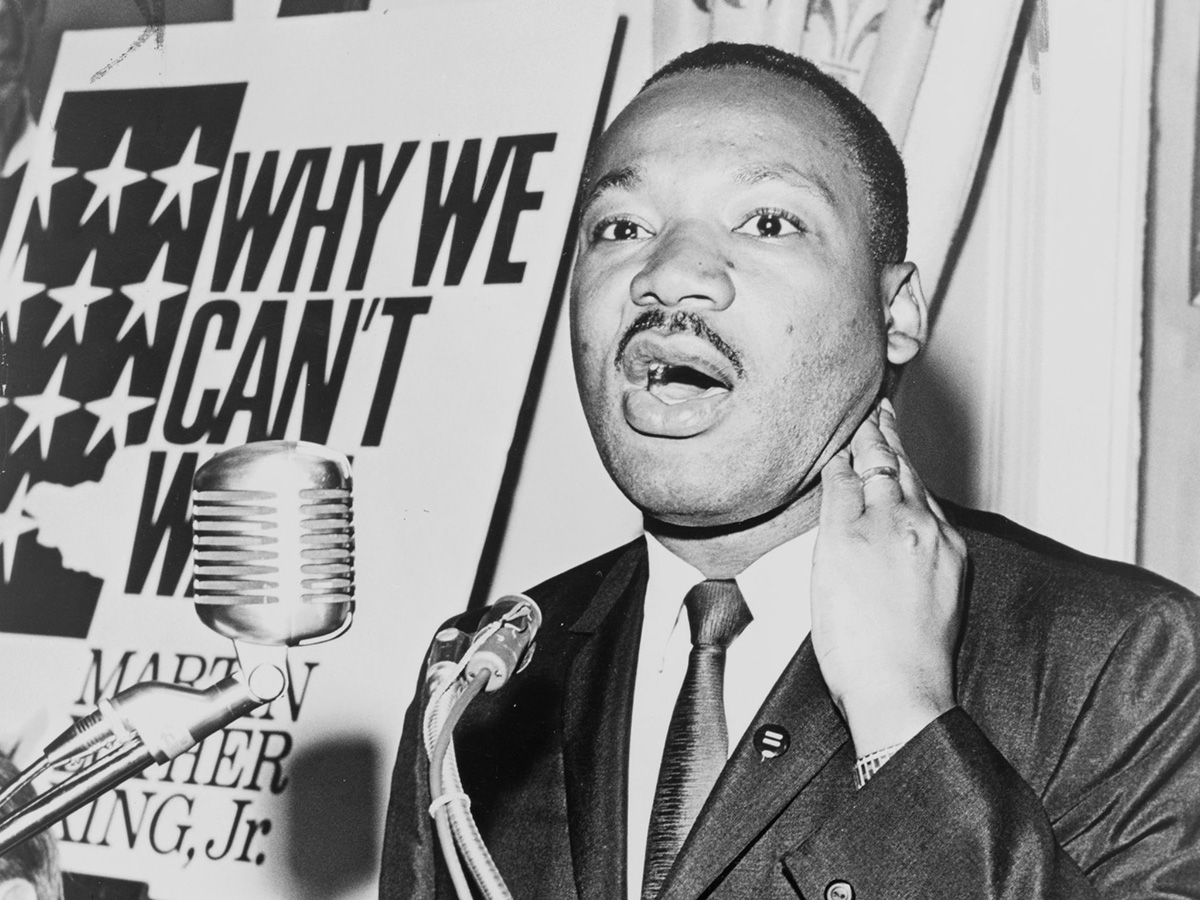 Martin Luther King Why We Can't Wait speech