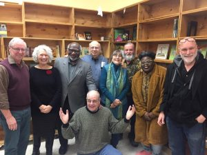 Boston area poets came together on February 24, 2019, to honor former Emerson College professor Sam Cornish, who passed away in 2018.