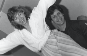 Scott Weinstock and Holly Harnish (Weinstock) back in the 1980s.