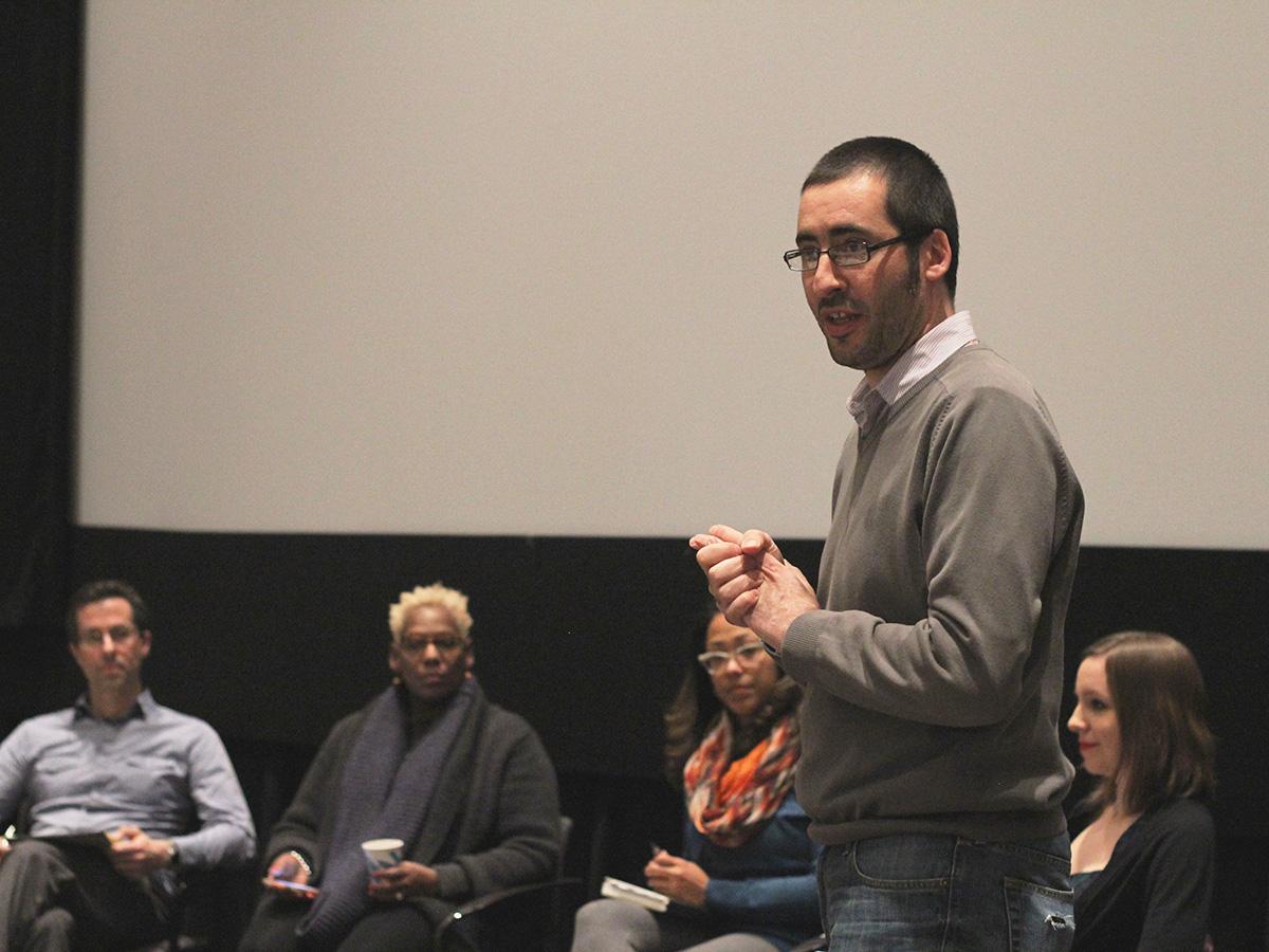Paul Mihailidis talking