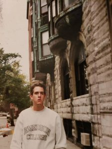Michael Rulli during his Emerson College years.