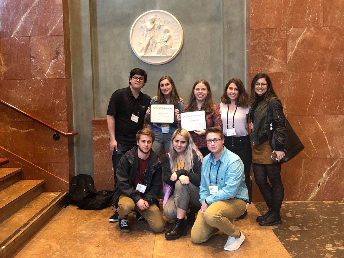 The Berkeley Beacon staff won two awards at the Associated College Press' Midwinter National College Journalism Convention.