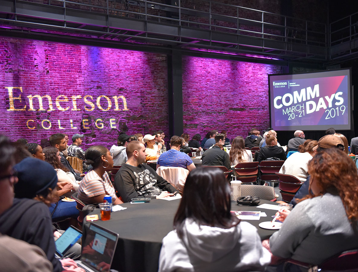 All School of Communication classes attended a series of workshops, panels and more during Communication Days on March 20-21, 2019. (Photo by Molly Loughman)