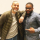 Hip-hop legend Bobbito Garcia and BCE Director Wes Jackson.
