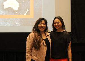 Maria Agui Carter and Adele Lim