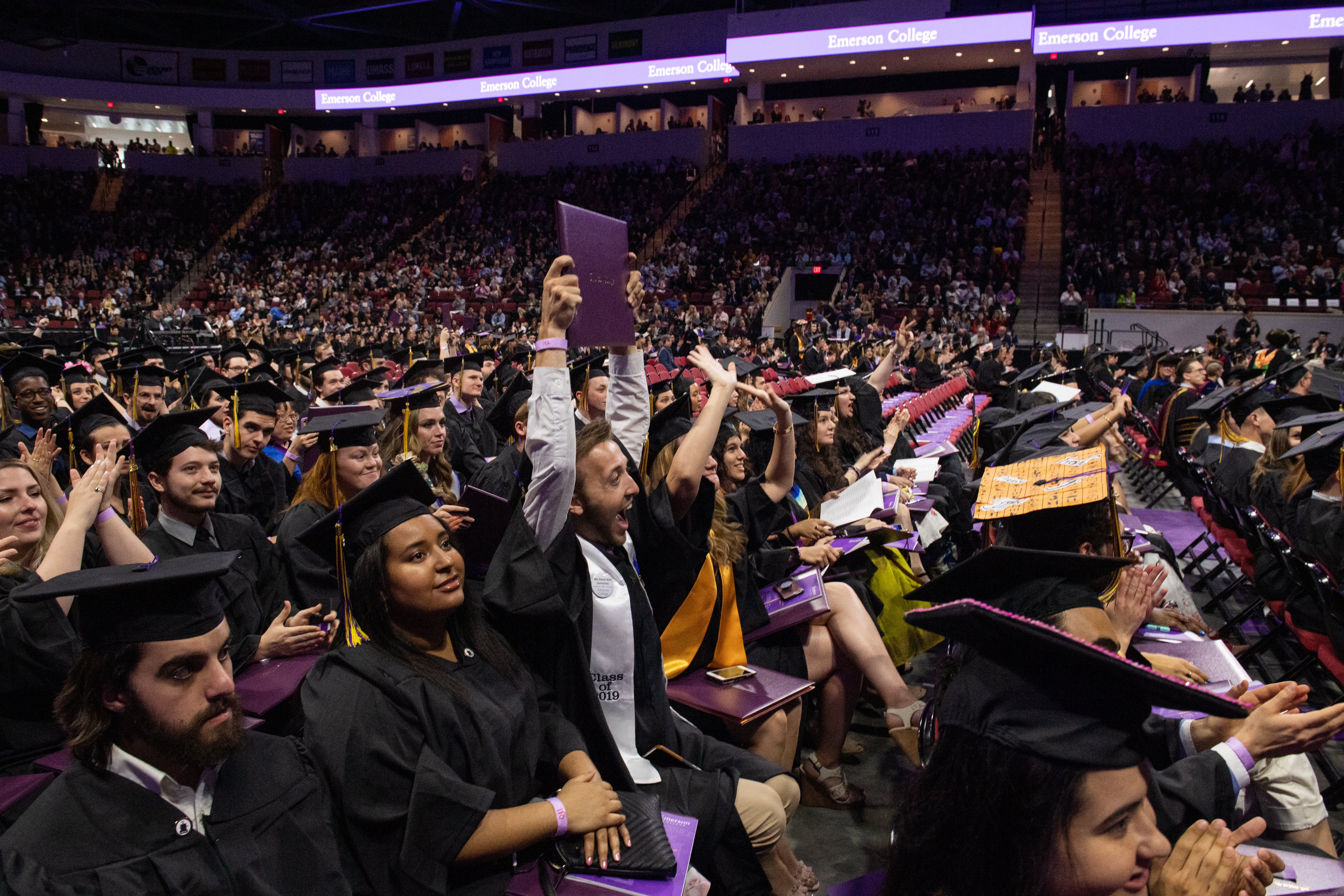 Emerson College 2019 Commencement