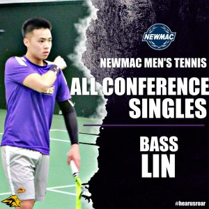 NEWMAC honors poster featuring Bass Lin