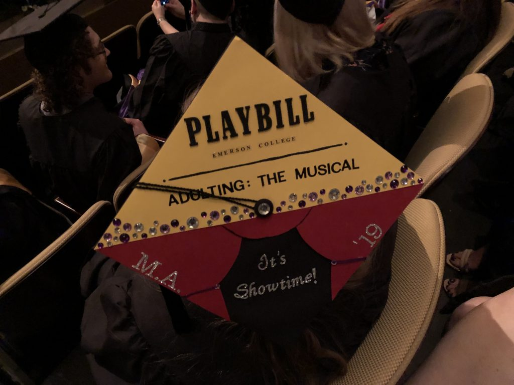 Creative mortar board