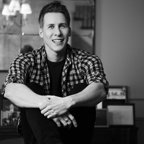 Dustin Lance Black black and white