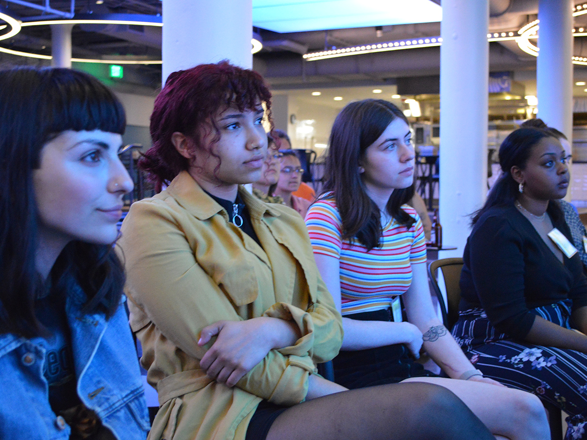 People in audience