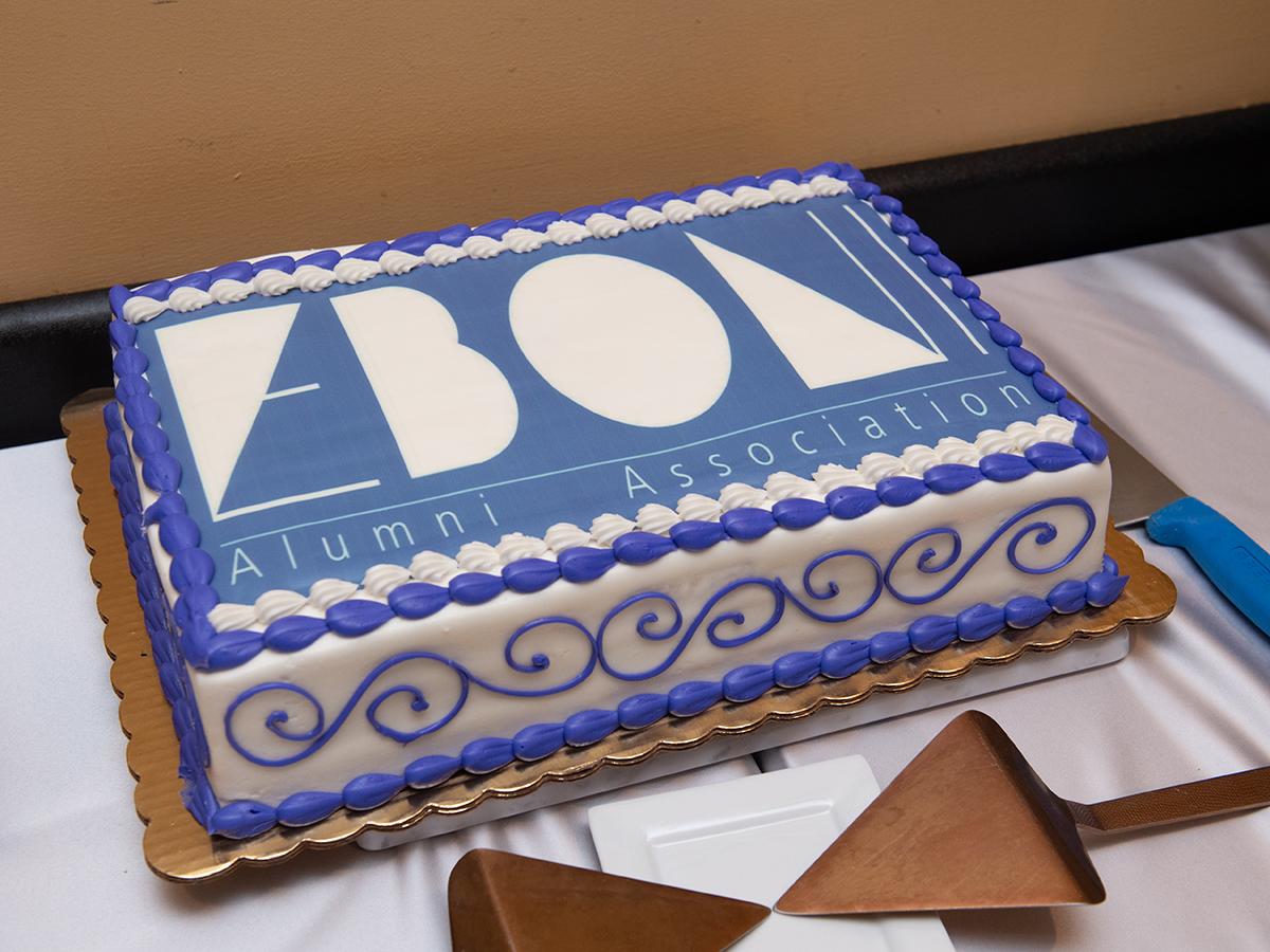 EBONI logo cake