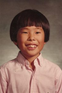 Ed Lee, Assistant Professor of Visual and Media Arts, at 11-years-old.