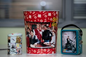 'Happy Days' memorabilia donated by Emerson College alum Henry Winkler. (Photo by Derek Palmer)