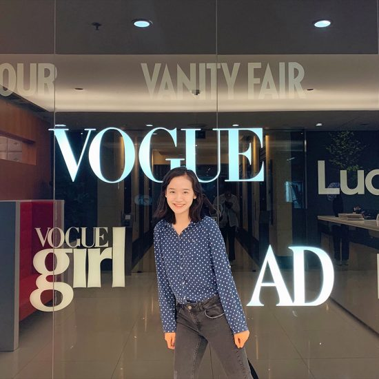 Fei Li at Vogue China