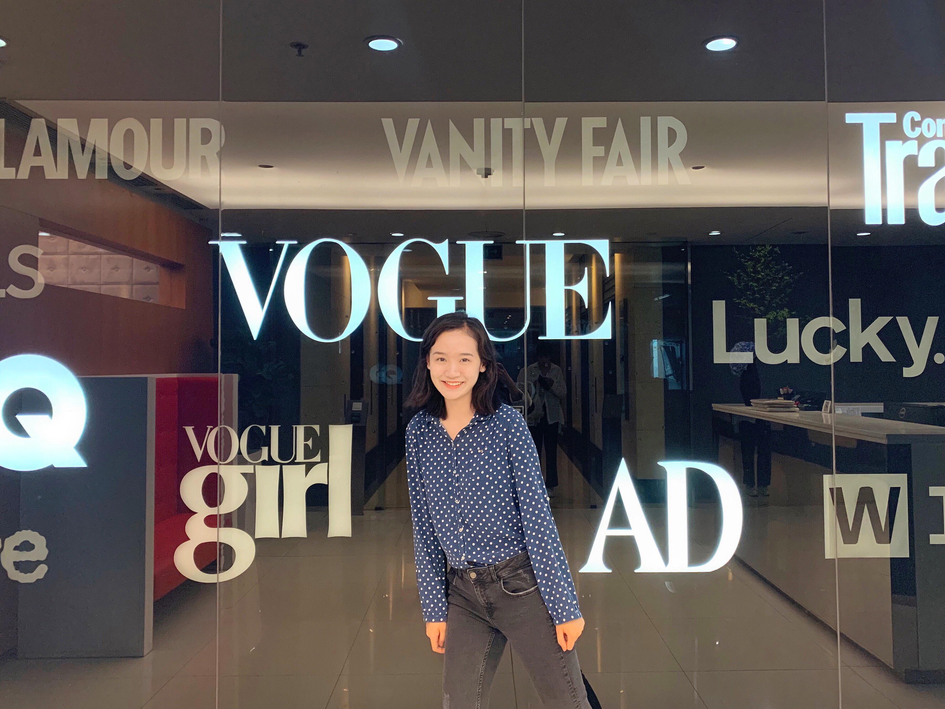 Fei Li at Vogue China