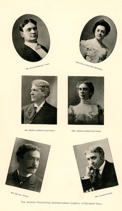 1900 recital series advertisement