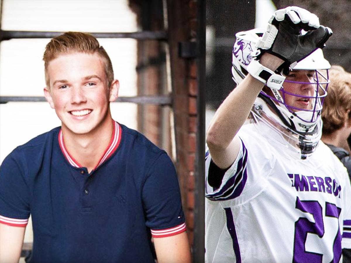 Two photos of Daniel Hollis