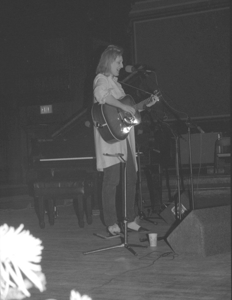 Connie Kaldor performs at the 6th Annual WERS Acoustic Music Festival