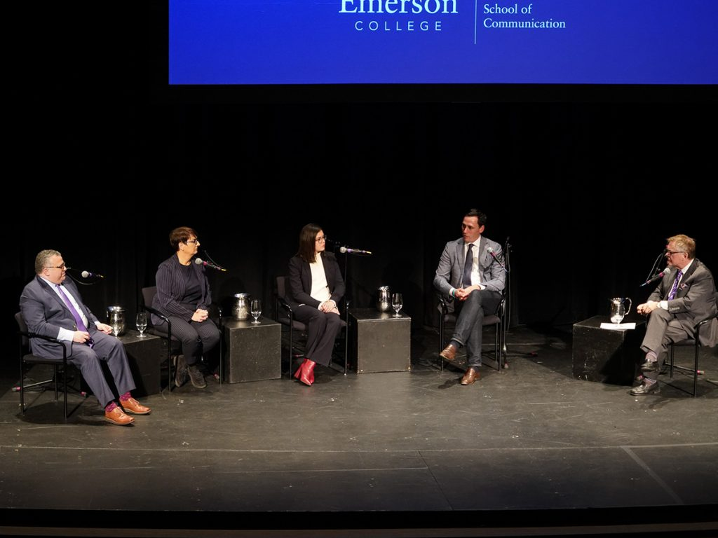 Five people participate in panel.