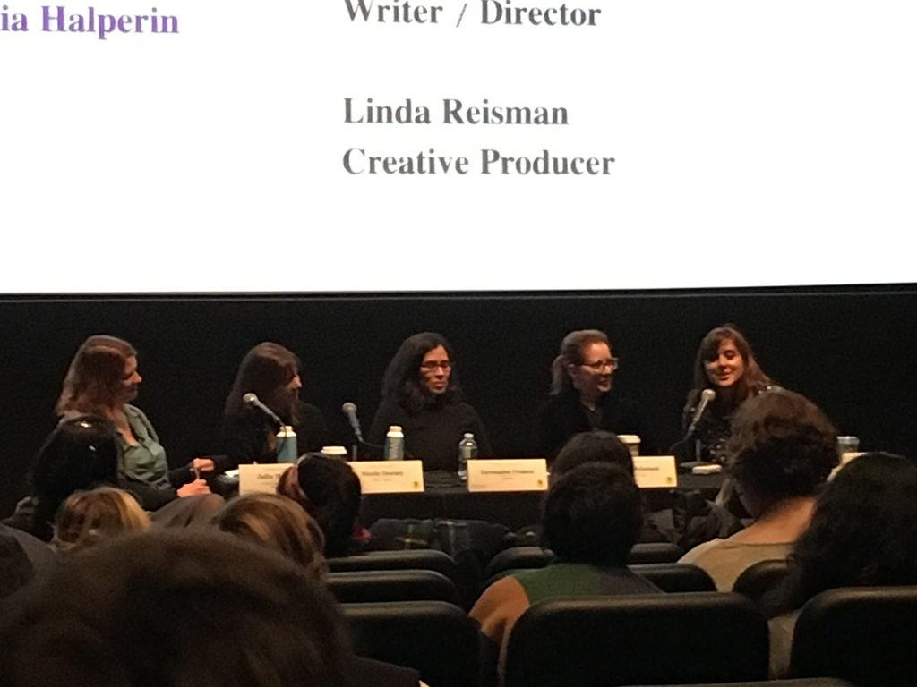 five women panelists