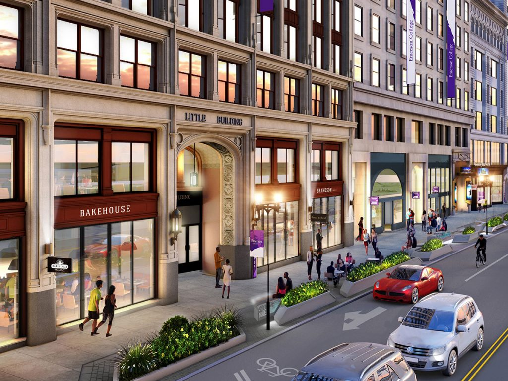 rendering of boylston street