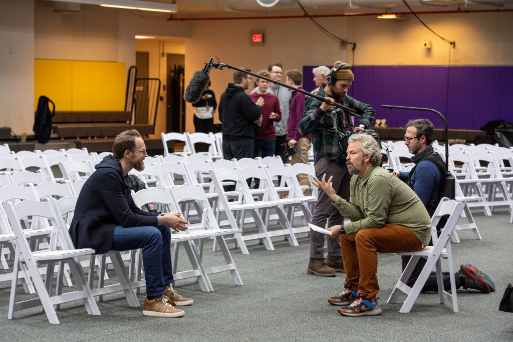 Emerson alum Sam Presti is interviewed by fellow alum Jacob Rosenberg.