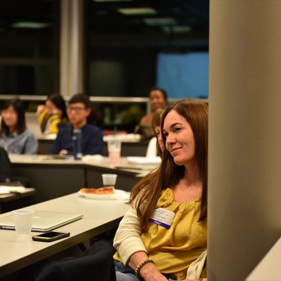 Emerson Marketing Communication Alumna Liz Good MA'05, among other Marketing Communication alumni, return to Emerson to share their career journeys.