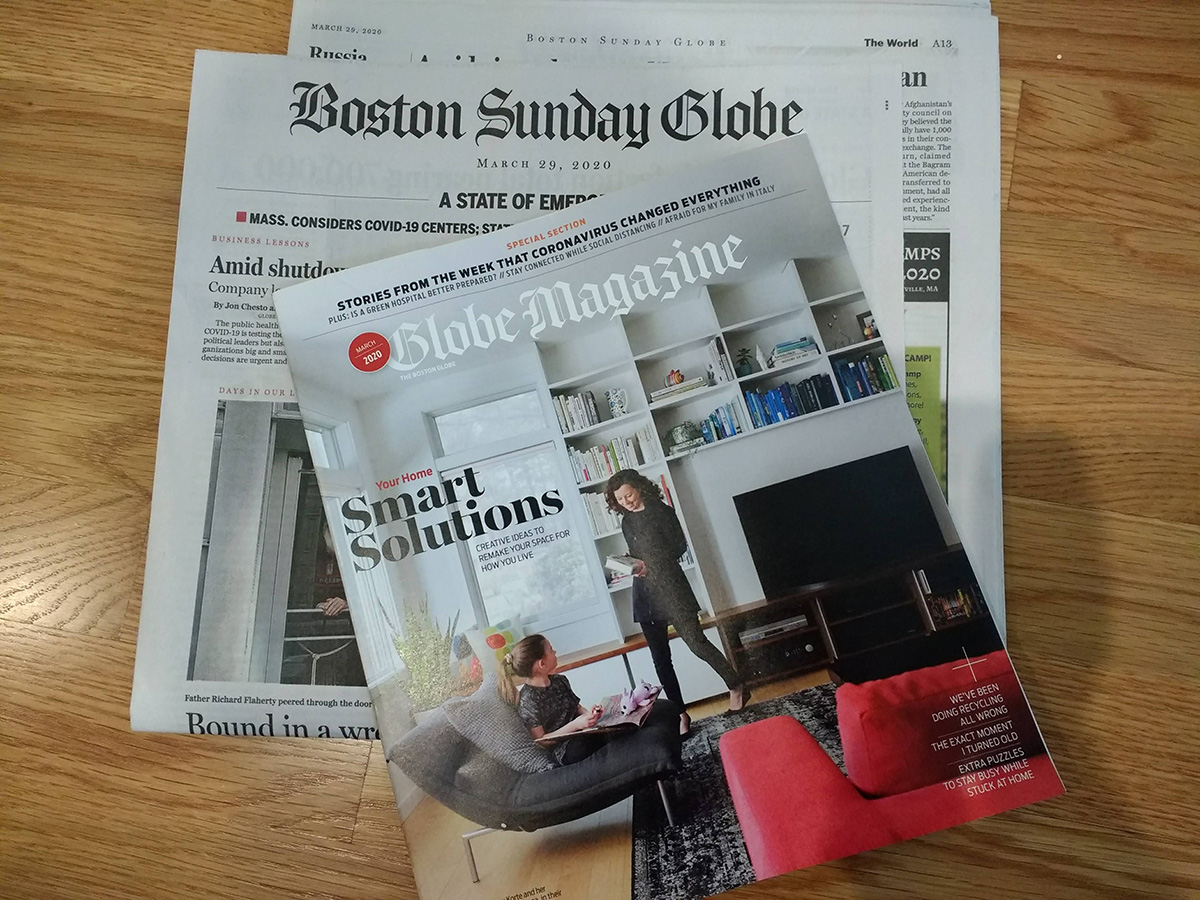The Boston Globe Magazine
