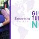 students hugging and GTN logo