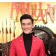Chen Tang at the Hollywood premiere of Mulan.