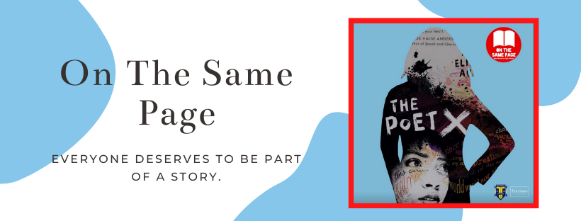 'On the Same Page' diverse book campaign poster