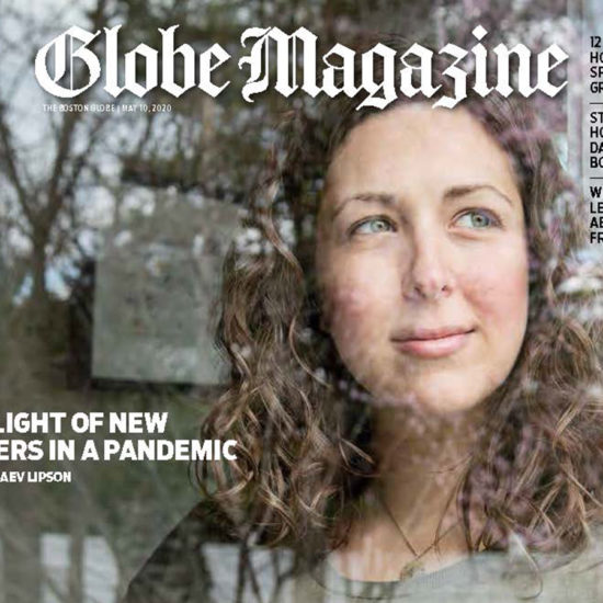 Globe Mag cover featuring mother