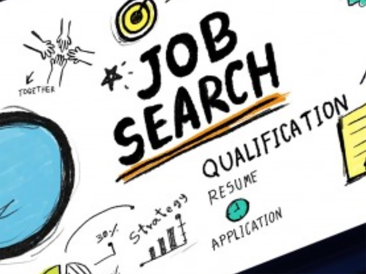 Text reads Job Search