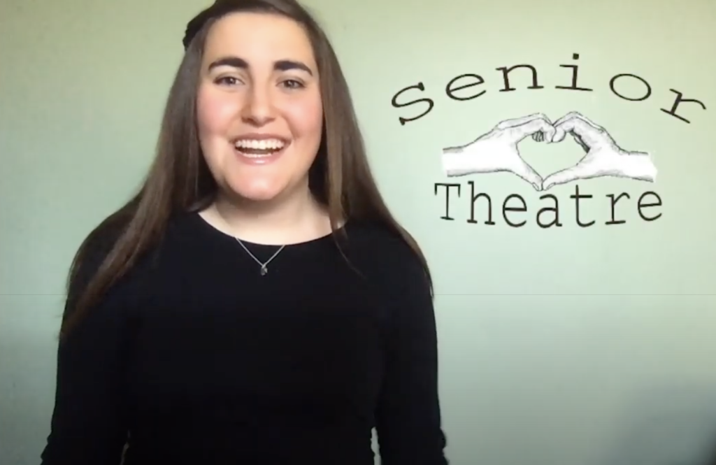 Second-place E3 winner Jessica Costas '20, a BFA Theatre Education major from Kingston, Massachusetts, developed a non-profit called Senior Theatre, which brings intergenerational programming into elderly communities