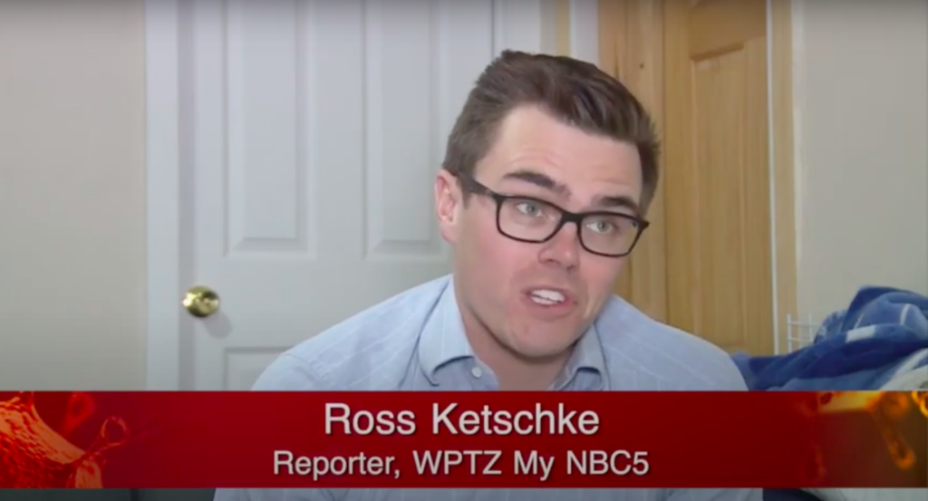 Ross Ketschke '18 who's a reporter at WPTZ in Burlington, VT discusses how news coverage has changed during the coronavirus pandemic with Emerson College journalist Victoria Gonzalez '20.