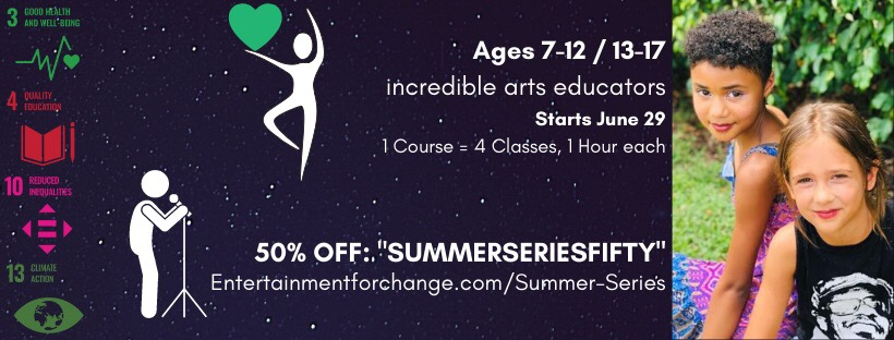 Entertainment for Change Summer Series Coupon image