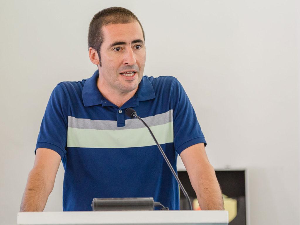 paul mihailidis at podium