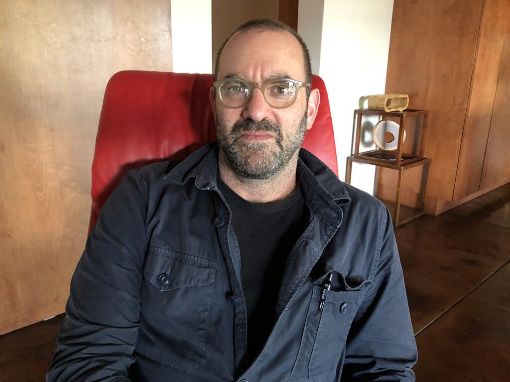 Joe Maggio in chair