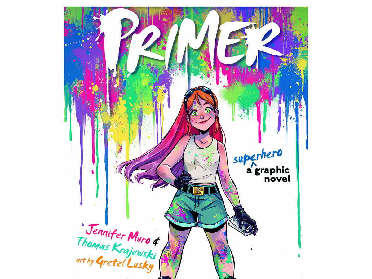 Primer is a graphic novel created by Emerson College alum Tom Krajewski.