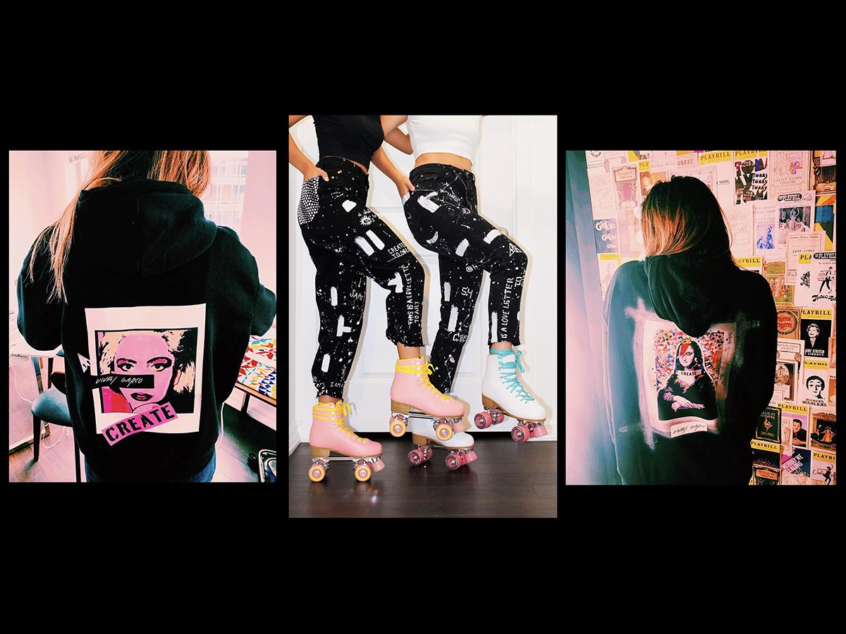 photos of women modeling clothing