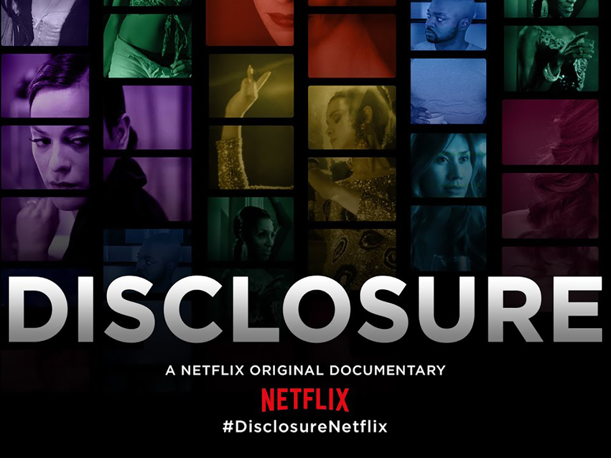 Promotion for Disclosure documentary